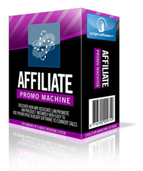 Product picture Affiliate Promo Machine