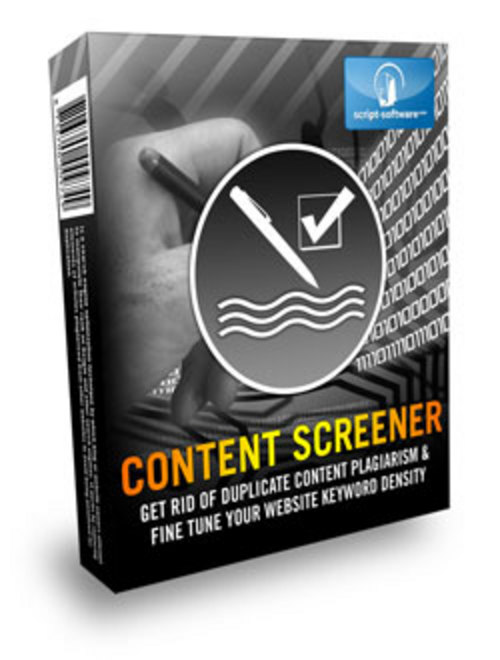 Product picture Content Screener